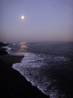 12月21日17時10分頃の海.JPG
